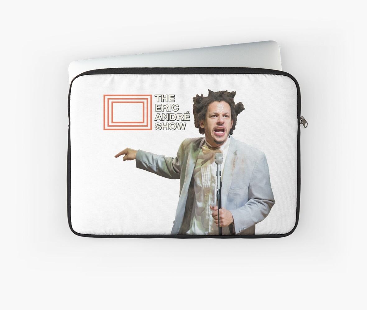 """The Eric Andre Show"" Laptop Sleeves By Tedefred"