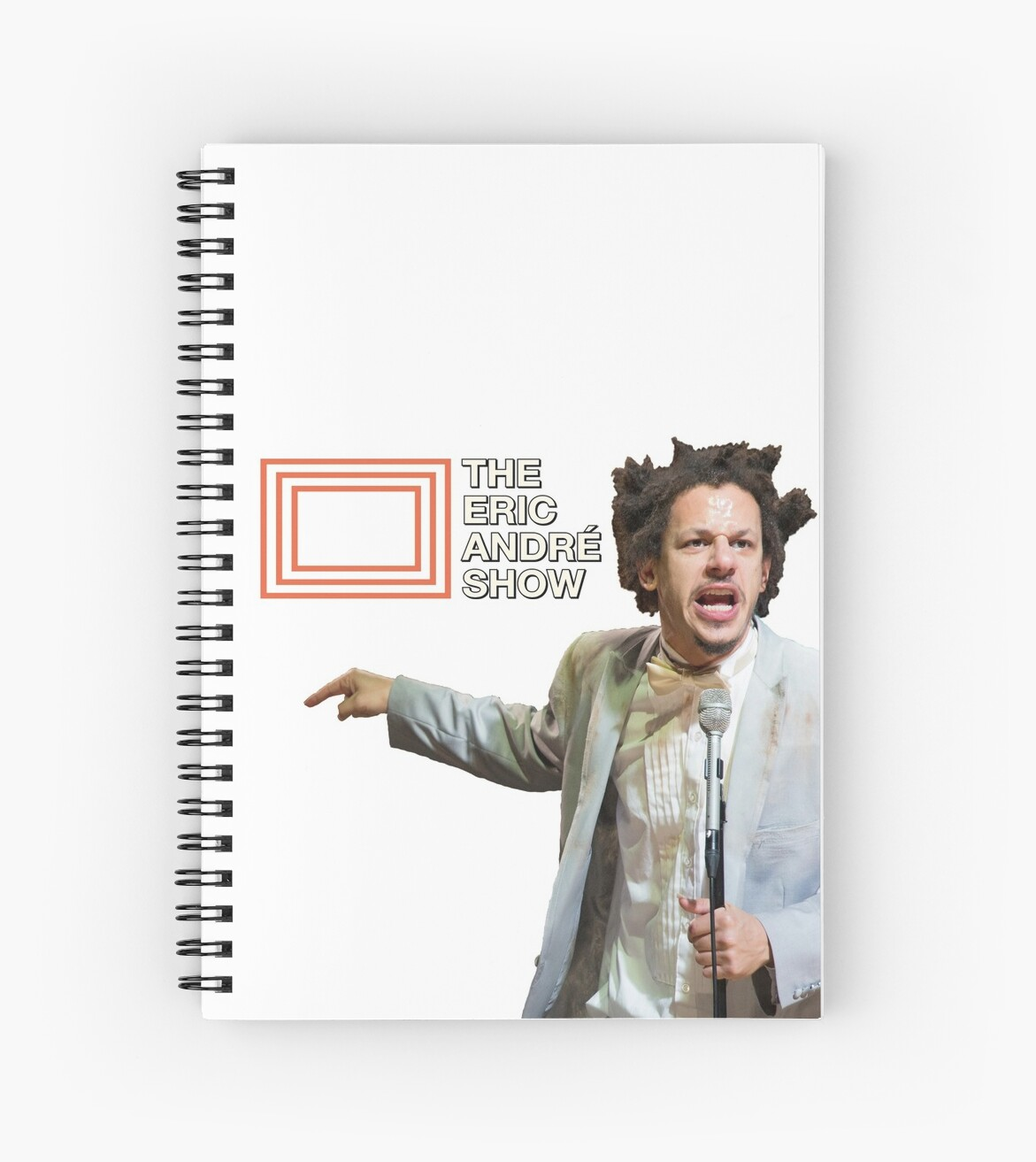 """The Eric Andre Show"" Spiral Notebooks By Tedefred"