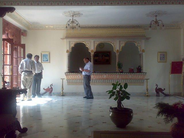 In the hotel lobby by nisheedhi