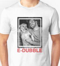 E-Dubble | Two Tone Rebel | Black Paisley | UK Merch Unisex T-Shirt