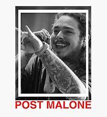 Post Malone | UK Merch | Music Artist Photographic Print