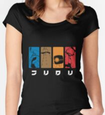 FLCL Women's Fitted Scoop T-Shirt