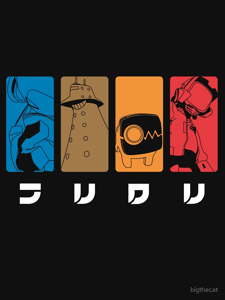 FLCL by bigthecat