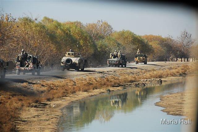 convoy by Maria Hall