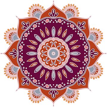 Colorful mandala by SomStock