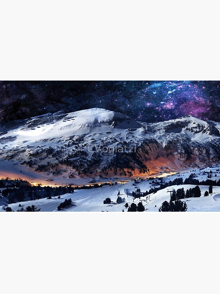 Mountain Calm in space view by CVogiatzi
