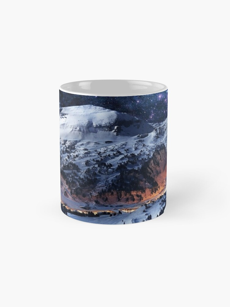 Alternate view of Mountain Calm in space view Mug