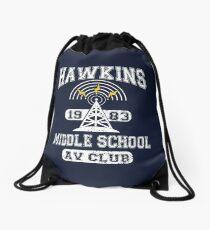 Stranger Things Tee - Hawkins AV Club Drawstring Bag