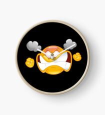 emoticon angry Clock