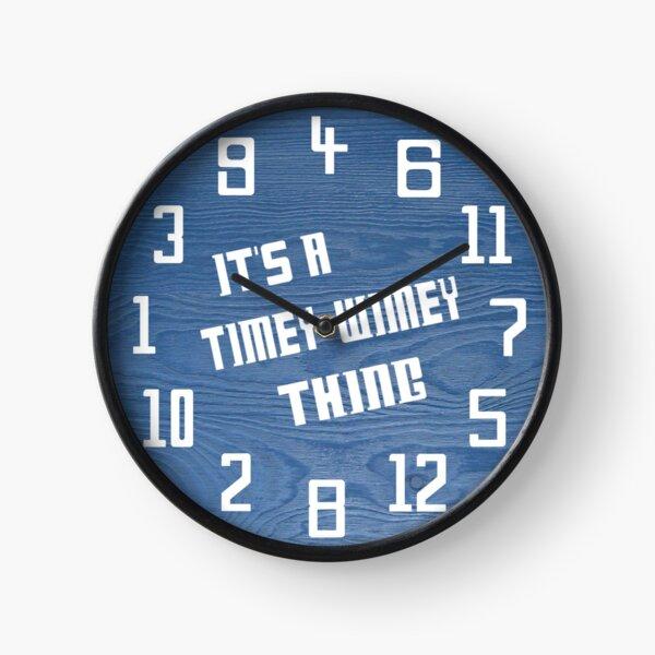 Timey Wimey Clock Clock