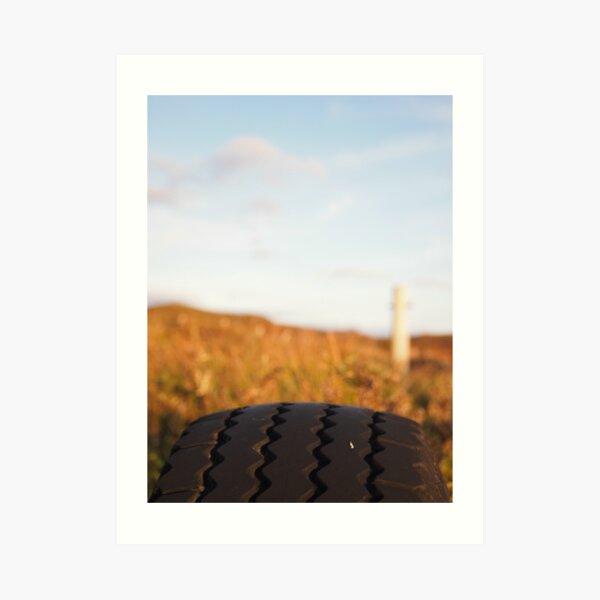 Tyre Art Print