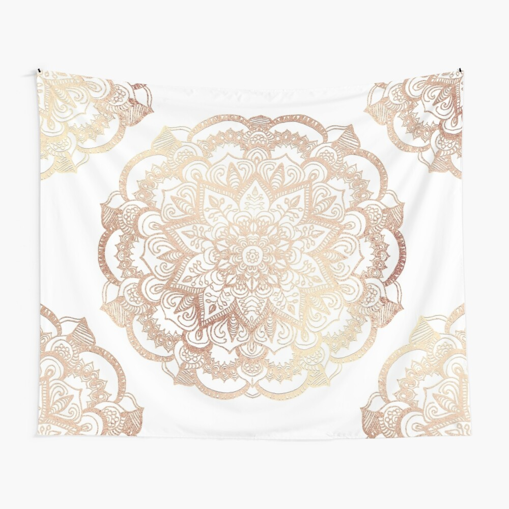Mandala Gold Shine I Wall Tapestry