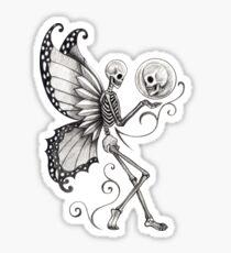 Skull Fairy Sticker
