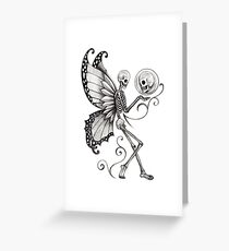 Skull Fairy Greeting Card