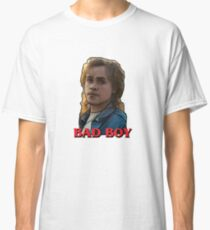 Billy from Stranger Things. Bad Boy Typography. Classic T-Shirt