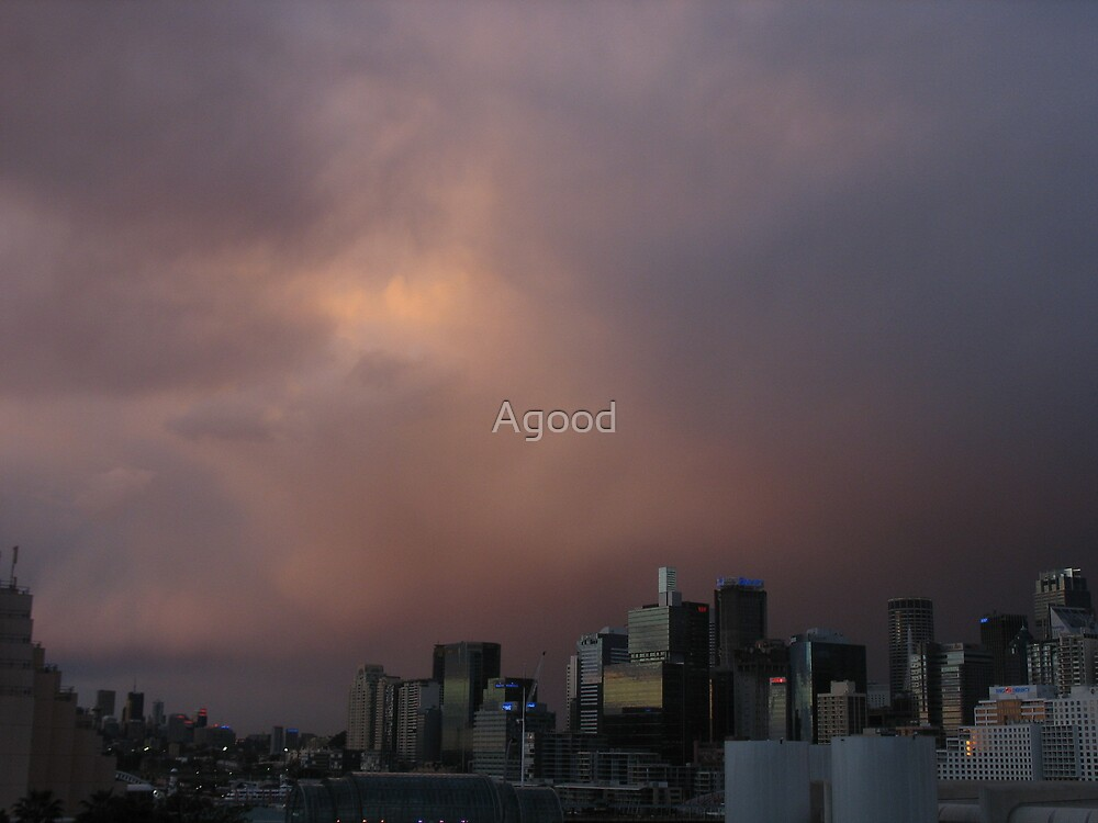After the storm by Agood