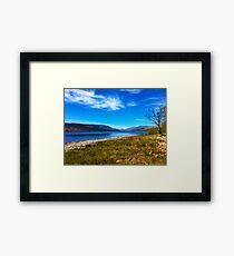 Serenity captured Framed Print