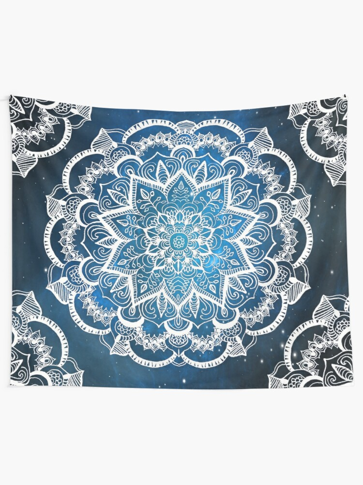 Alternate view of Mandala into Galactic stars Tapestry