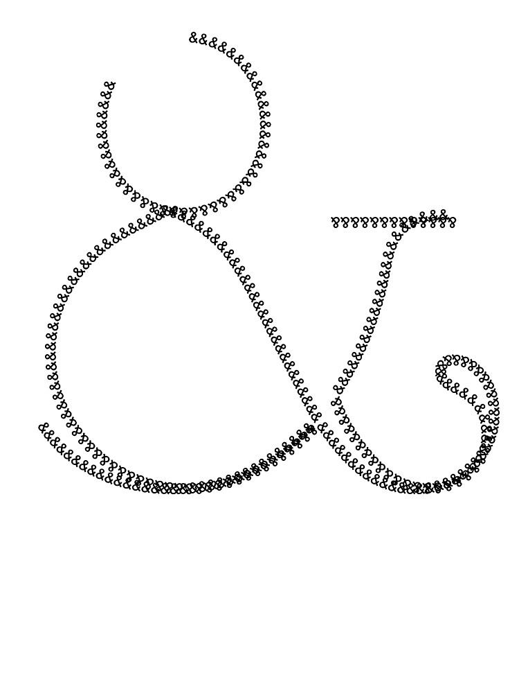 Ampersand 4 & by Rupert Russell