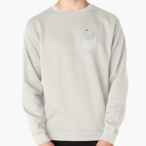 Polar in a pocket Pullover Sweatshirt