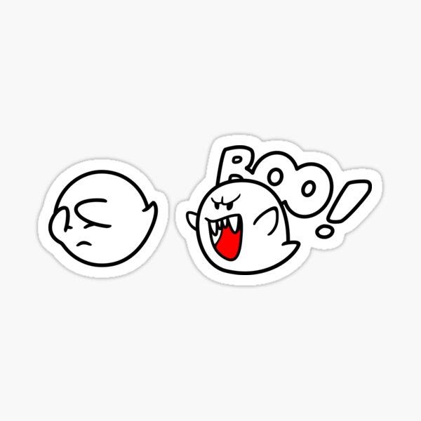 Boo! Super Mario World Sticker