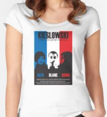Kieslowski - Three Colours Trilogy Women's Fitted Scoop T-Shirt