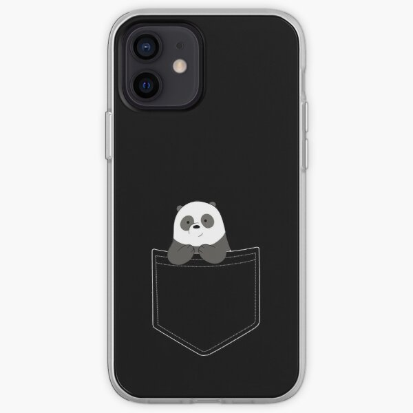 Pan Pan in a pocket iPhone Soft Case