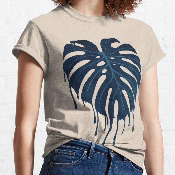 Monstera Melt (in Grün) Classic T-Shirt