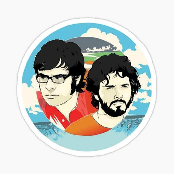 Flight of The Conchords Tour Sticker