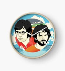 Flight of The Conchords Tour Clock