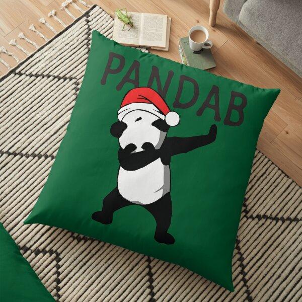 Funny Panda Dab Pandab | Animal Dabbing Christmas Gifts Floor Pillow