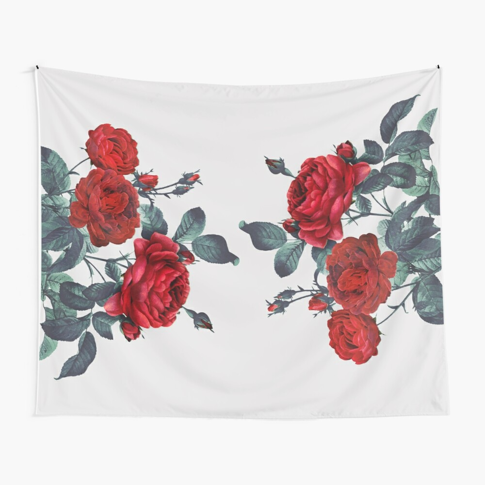 Rose my life Wall Tapestry