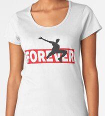PARKOUR - PARKOUR FOREVER - LIFE ON THE EDGE Women's Premium T-Shirt