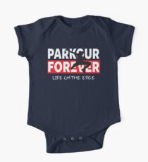 PARKOUR - PARKOUR FOREVER - LIFE ON THE EDGE Kids Clothes