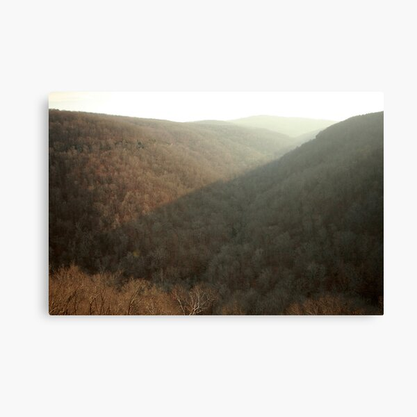 Evening in the Boston Mountains Canvas Print