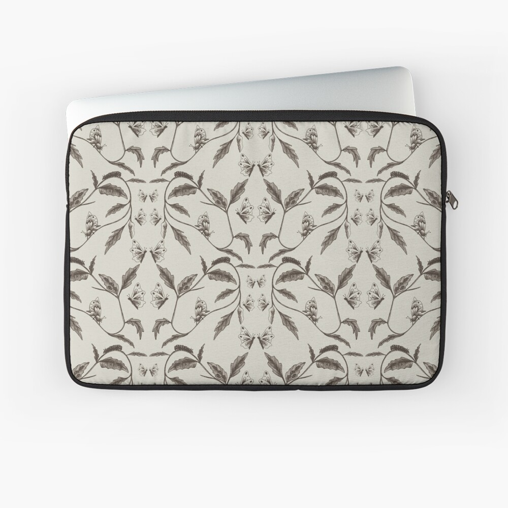 Life-Cycle of a Butterfly Laptop Sleeve