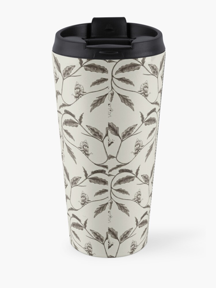 Alternate view of Life-Cycle of a Butterfly Travel Mug