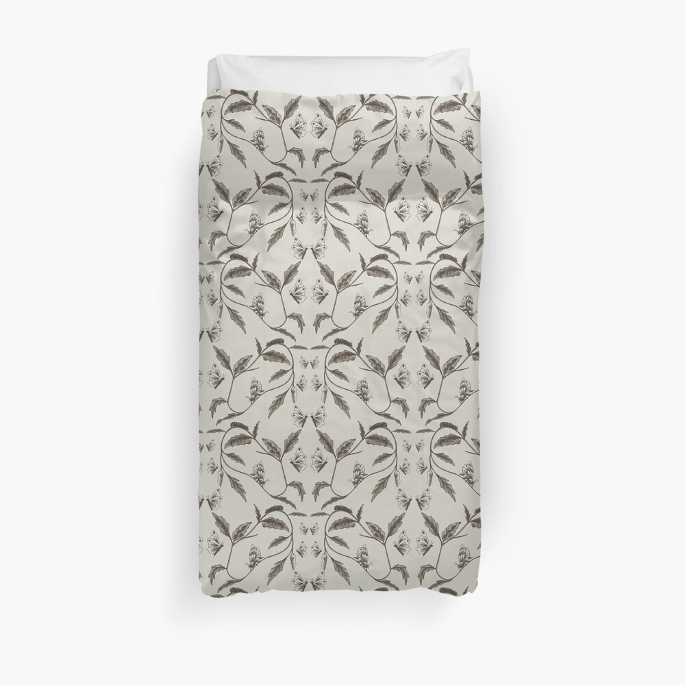 Life-Cycle of a Butterfly Duvet Cover