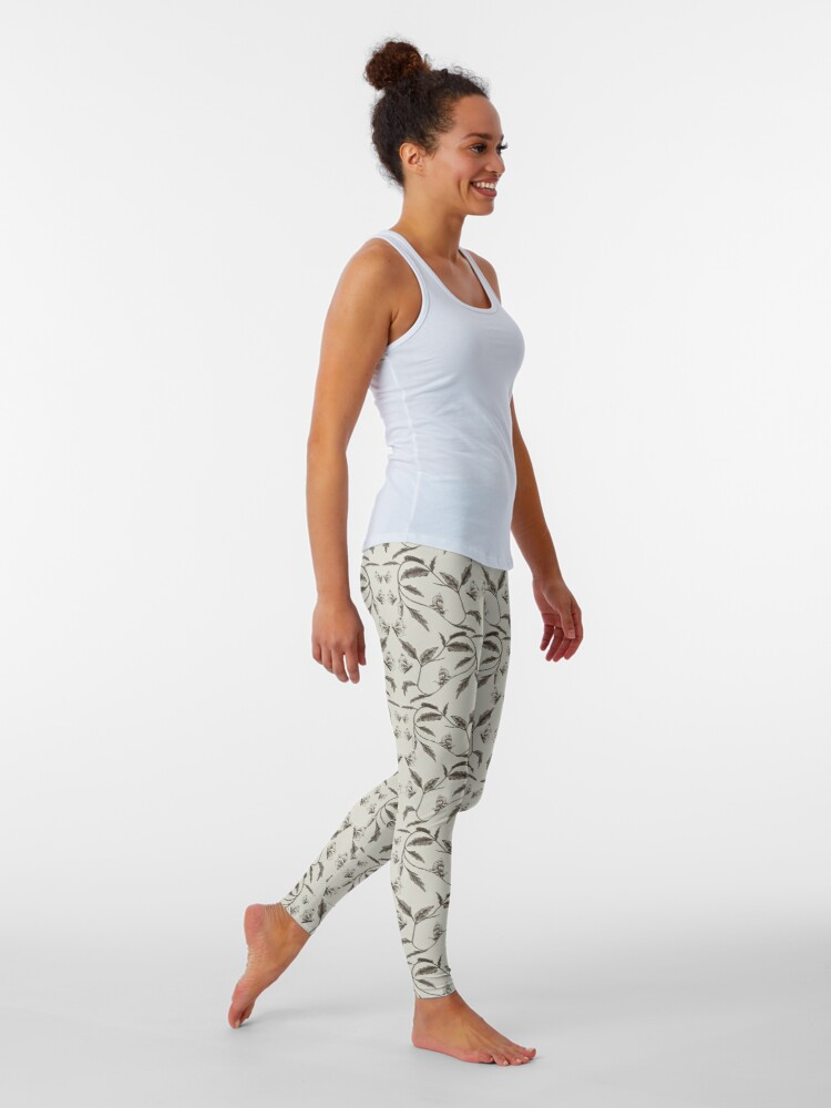 Alternate view of Life-Cycle of a Butterfly Leggings