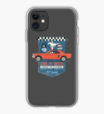 Ford Mustang - King Of Speed iPhone-Hülle & Cover
