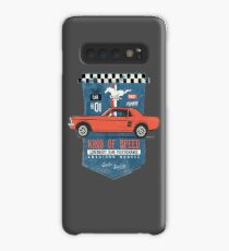 Ford Mustang - King Of Speed Hülle & Klebefolie für Samsung Galaxy