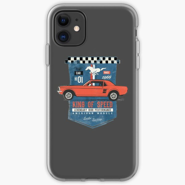 Ford Mustang - King of Speed iPhone Soft Case