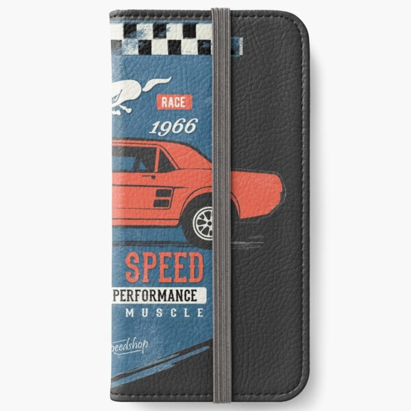 Ford Mustang - King of Speed iPhone Wallet