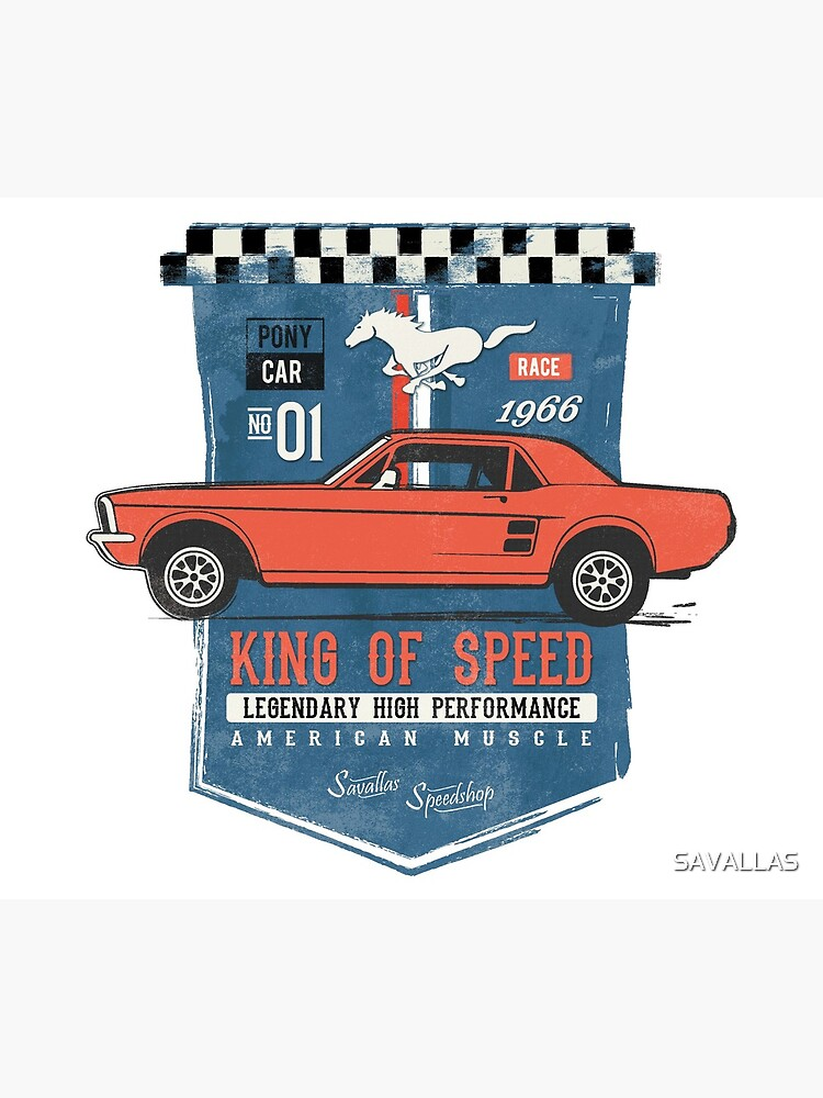 Ford Mustang - King Of Speed von SAVALLAS