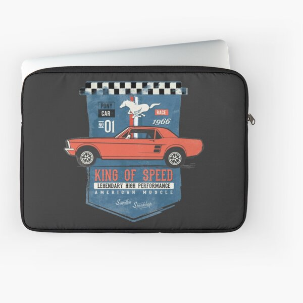 Ford Mustang - King of Speed Laptop Sleeve