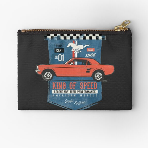Ford Mustang - King of Speed Zipper Pouch