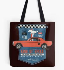 Ford Mustang - King Of Speed Tote Bag