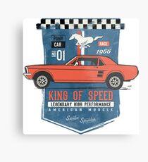 Ford Mustang - King Of Speed Metallbild