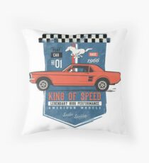 Ford Mustang - King Of Speed Sitzkissen