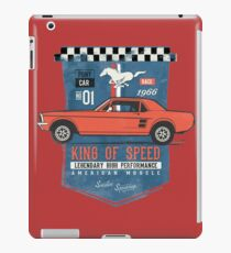 Ford Mustang - King Of Speed iPad-Hülle & Skin